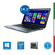 NOTEBOOK HP ELITEBOOK 840 G2 - DISPLAY 14,1 HD -  INTEL I5-5200U - RAM 8G - SSD 500GB -  SVGA INTEL HD5500 - WINDOWS 10 PRO - U