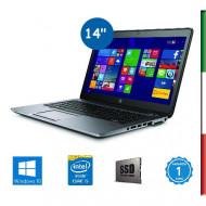 NOTEBOOK HP ELITEBOOK 840 G3- INTEL I5-6300U - RAM 8GB DDR4 - SSD 128GB M2 - SVGA INTEL HD 520- DISPLAY 14  HD -WEBCAM - WINDOW