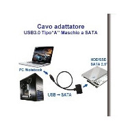 CAVO Adattatore USB 2.0 A-B CoolerMasterLED Blue