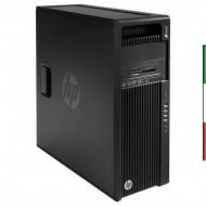 PC HP Z440 (GRADO B  USATO CERTIFICATO)INTEL XEON E5-1603 V3 - SVGA NVIDIA QUADRO K600 1GB - 32GB RAM DDR4 - SSD 480GB - DVDRW