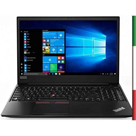 NOTEBOOK  LENOVO E570 (Ricondizionato certificato) -  DISPLAY 15,6 HD - INTEL  I3-7100U - RAM 4GB DDR4 -  SSD 120GB M2 SATA + H