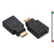 ADATTATORE HDMI F HDMI Mini M
