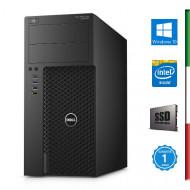 PC DELL PRECISION 3620 (Ricondizionato certificato) -  INTEL  E3-1270 V5 - SVGA NVIDIA QUADRO M4000 8GB - 32GB RAM DDR4 - SSD 5