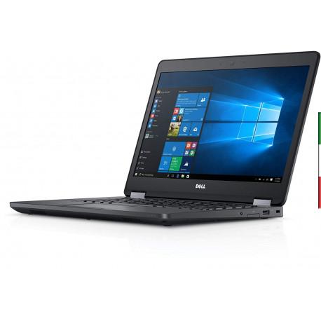 NOTEBOOK  DELL LATITUDE E5470 (GRADO B USATO CERTIFICATO) DISPLAY 14,1 FULL HD NUOVO - INTEL  I5-6200U - RAM 8GB DDR4  -  SSD 2