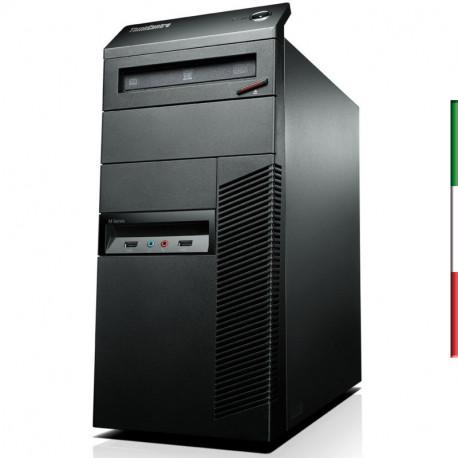 PC LENOVO M93P GAMING (Ricondizionato certificato) - INTEL I7-4770 - SVGA NVIDIA GT 1030 2GB - 16GB RAM - SSD 480GB - USB3,0 -