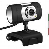 Webcam 1080p usb con Microfono oem PCP-WCM-U-23