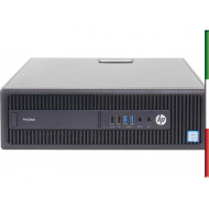 PC HP PRODESK 600/800 G2 (Ricondizionato certificato) - INTEL I5-6500 - SVGA INTEL HD530 - 8GB RAM DDR4 - SSD 480GB - USB3,0 -