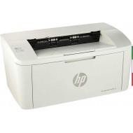 Stampante HP LaserJet M15a  Monocromatica, Tecnologia Risparmio Energetico, Design Moderno e Compatta, Bianco