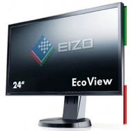 """MONITOR LED 24"""" EIZO EV2436W (Ricondizionato certificato) GRADO A PIVOT 16:10 1920*1200 IPS VGA DVI DISPLAY PORT- HUB USB"""
