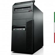 PC LENOVO M92P TOWER (Ricondizionato certificato)   INTEL I5-3470 -  SVGA NVIDIA GT 710 2GB- 8GB RAM - SSD 240GB - USB3,0 - DVD