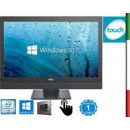 PC  ALL IN ONE DELL OPTIPLEX 7440 (Ricondizionato Certificato)  DISPLAY 24'' FULL HD TOUCHSCREEN - INTEL  QUAD CORE I5-6600 - H