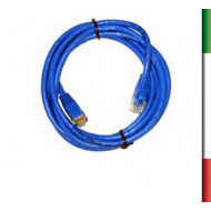 CAVO DI RETE PATCH 1,5 Mt. RJ45 CAT.5 UTP