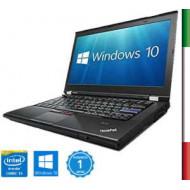 NOTEBOOK LENOVO T420 (Ricondizionato Certificato)  INTEL I5-2520M - RAM 8GB- SSD 180GB- SVGA INTEL HD 3000 -  DISPLAY 14'' HD -