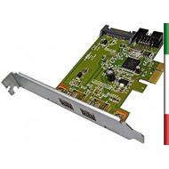 Scheda Firewire HP PCIe 1394b PVC free - 632487-001