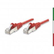 CAVO DI RETE PATCH 2 Mt. RJ45 CAT.6 SFTP RED