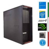 PC  LENOVO P500 GAMING (Ricondizionato certificato) - INTEL XEON E5-1620 V3 - SVGA NVIDIA GTX 1650 4GB - 64GB RAM DDR4 - SSD 1T