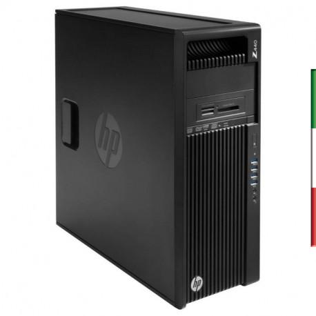 PC HP Z440 GAMING (Ricondizionato certificato) - INTEL XEON E5-1603 V3 - SVGA NVIDIA GTX 1660 6GB - 32GB RAM DDR4 - SSD 1TB - U