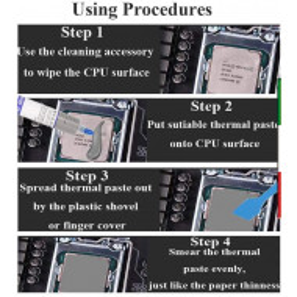 PASTA DISSIPAZIONE CALORE High Professionale per CPU e GPU - Elevata conducibilità Termica con Una Bassa Resistenza Termica