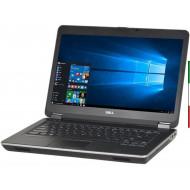 NOTEBOOK DELL LATITUDE E6440 (GRADE B USATO CERTIFICATO) DISPLAY 14 HD - INTEL I5-4200M - RAM 8G - SSD 120GB - SVGA INTEL HD460