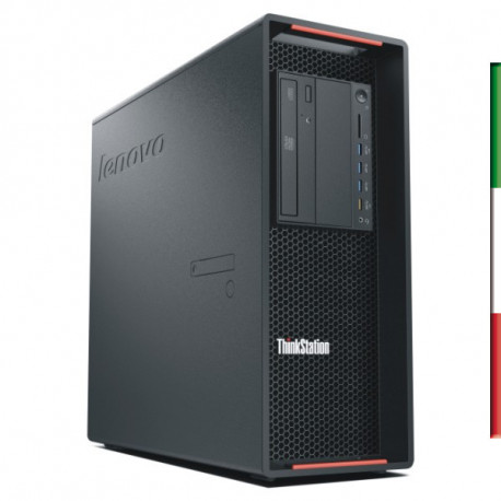 PC  LENOVO P500 GAMING (Ricondizionato certificato) - INTEL XEON E5-1620 V3 - SVGA NVIDIA GTX 1660 6GB - 32GB RAM DDR4 - SSD 1T