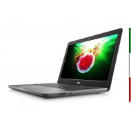 NOTEBOOK  DELL INSPIRION 5567 (Ricondizionato certificato) - DISPLAY 15,6 FULL HD - INTEL  I7-7500U - RAM 16GB DDR4  -  SSD 256