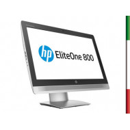 PC  ALL IN ONE HP 800 G2(Ricondizionato Certificato)  DISPLAY 23 '' FULL HD - INTEL I5-6500 - HD530 INTEL - 8GB RAM DDR4-  SSD