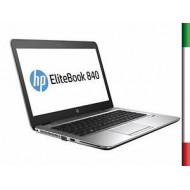 NOTEBOOK HP ELITEBOOK 840 G3 (Ricondizionato Certificato) DISPLAY 14 FULL HD -  INTEL I7-6600U - RAM 16G  DDR4 - SSD 256GB M2 S