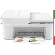 STAMPANTE HP DeskJet Plus 4120 3XV14B Stampa, Scansiona, Copia, formato A4, Fax da Mobile, ADF, Wi-Fi e Wi-Fi Direct, USB 2.0,