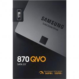 """SSD-SOLID STATE DISK 2.5"""" 1000GB (1TB) SATA3 SAMSUNG MZ-77Q1T0BW SSD870 QVO READ:560MB/S-WRITE:530MB/S 3ANNI GAR."""