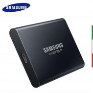 HARD DISK SSD portatile USB 3.1, 1TB SAMSUNG T5 MU-PA1T0B
