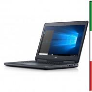 NOTEBOOK DELL PRECISION 7510(Ricondizionato certificato) DISPLAY 15,6 FULL HD - INTEL  QUAD I7-6820HQ - RAM 32GB DDR4-  SSD 512