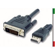 CAVO HDMI/DVI-D 18/24 pin M/M 1.8Mt.