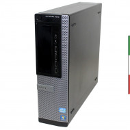 PC DELL OPTIPLEX 7010(Ricondizionato certificato) - INTEL G2120/G860 - SVGA INTEL HD - USB3.0 - 4GB RAM - SSD 240GB - DVD - Win