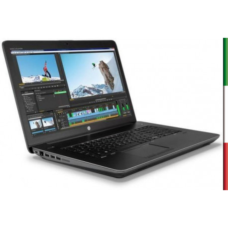 NOTEBOOK HP ZBOOK 15 G3 (Ricondizionato Certificato)  DISPLAY 15,6'''  FULL HD - I7-6700HQ - RAM 16GB DDR4 - SSD 512GB  PCIe