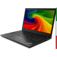 NOTEBOOK LENOVO THINKPAD T480 (ricondizionato) - DISPLAY 14,1 FULL HD - INTEL I5-8350U - RAM 8GB DDR4 - SSD 256GB NVME -