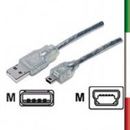 CAVO MINI  USB M/M-Mini 1,2mt