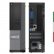 PC DELL OPTIPLEX 3020 (Ricondizionato certificato) - INTEL G3220 - SVGA INTEL HD - USB3.0 - 4GB RAM - SSD 240GB - DVD - Windows