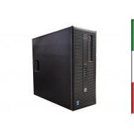 PC HP PRODESK 600 G1 GAMING (Ricondizionato certificato) - INTEL I5-4570 - SVGA NVIDIA GTX 1050TI 4GB - 8GB RAM - SSD 480GB