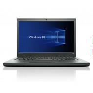 NOTEBOOK LENOVO THINKPAD T440 (Ricondizionato certificato) - DISPLAY 14 HD - INTEL I5-4300U - RAM 8G - SSD 256GB  - WEBCAM - SV