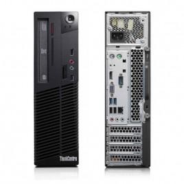 PC LENOVO E73 SFF (Ricondizionato certificato) - INTEL I5-4440S - SVGA INTEL HD4600 - 8GB RAM - SSD 240GB - USB3,0 - DVDRW -