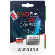 SD Memory Card MICRO 128Gbyte SAMSUNG EVO PLUS CL10 READ 100MB/s WRITE 60MB/s
