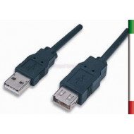 CAVO Prolunga USB v2.0 TIPO AM/AF 1.8M