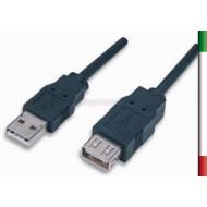 CAVO Prolunga USB v2.0 TIPO AM/AF 5 Mt.