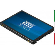 "SSD-SOLID STATE DISK 2.5"" 240GB SATA3 GOODRAM SSDPR-CL100-240-G3 READ:520MB/S-WRITE:400MB/S"