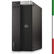 PC DELL T7810 DELL (Ricondizionato certificato) - INTEL DUAL XEON E5-2609 V3 - SVGA NVIDIA K600 1GB - 32GB RAM DDR4 - SSD 480