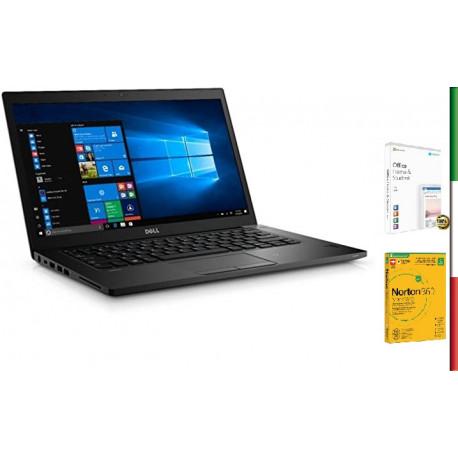 NOTEBOOK DELL LATITUDE 5580 (Ricondizionato certificato) - DISPLAY 15.6 HD - INTEL I7-7820HQ - RAM 8GB - SSD 256GB M2 SATA