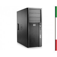 PC HP Z200 TOWER (GRADO B USATO CERTIFICATO)) - INTEL QUAD CORE XEON X3470 - SVGA NVIDIA K600 1GB - 8GB RAM - SSD 240GB - USB3,