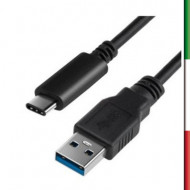 CAVO USB 3,1 GEN1 TIPO C ( tipo A Maschio - C Maschio ) compatibile con : MacBook,Apple TV4,Lumia,Nexus e tutti USB tipo C