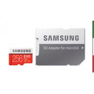 SD Memory Card MICRO 256Gbyte SAMSUNG EVO PLUS CL10 READ 100MB/s WRITE 90MB/s
