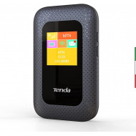 WIRELESS N ROUTER Tenda 4G185 V2.0 Wi-Fi 4G LTE Cat4 150Mbps, Hotspot Mobile Portatile, Batteria 2100 MAh, Nessuna Configurazio